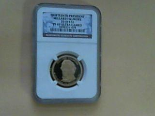 2010 S Proof Millard Fillmore Presidential Dollar Ngc Graded Pf69 (si1) photo