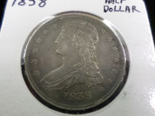 1838 Liberty Capped Bust Half Dollar photo