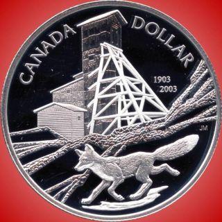 2003 Canada Silver Collector Dollar Coin (25.  175 Grams.  925 Silver) photo