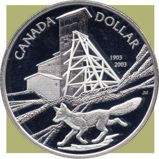 2003 Canada Silver Collector Dollar Coin (25.  175 Grams.  925 Silver) No Tax photo