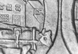 1974 Canada Dollar Double Yoke Ddr 6 Unc Rare Extra Yoke photo
