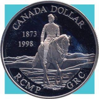 1998 Canada Silver Collector Dollar Coin (25.  175 Grams.  925 Silver) (no Tax) photo