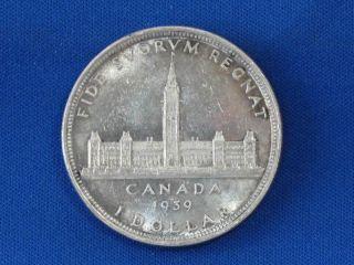 1939 Canada Commemorative Silver Dollar B1072 photo