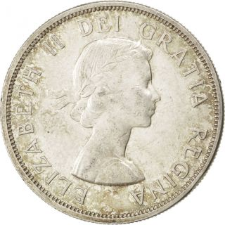 [ 41032] Canada,  Elisabeth Ii,  1 Dollar 1960,  Km 54,  Km 54 photo