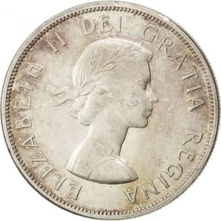 [ 41033] Canada,  Elisabeth Ii,  1 Dollar 1963,  Km 54,  Km 54 photo