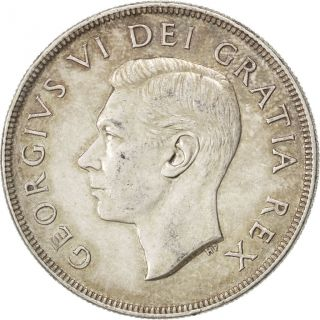 [ 41031] Canada,  Georges Vi,  1 Dollar 1952,  Km 52,  Km 52 photo