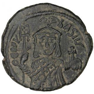 Bysantine Empire,  Théophile,  Follis photo