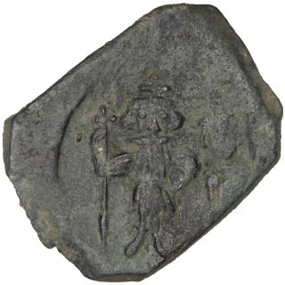 Bysantine Empire,  Constans Ii,  Follis photo