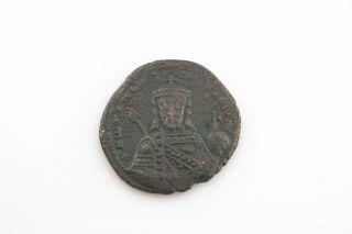 920 - 945 Byzantine Coin Ae Follis Romanos I Constantine Vii (vf - Xf) Sear 1760 photo