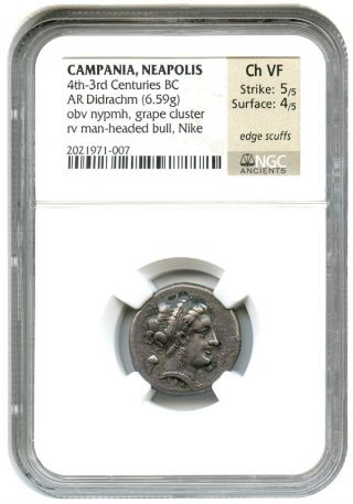 4th - 3rd Centuries Bc Ar Didrachm Ngc Vf (ancient Greek) photo