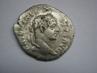 Roman Silver Denarius Of Imp.  Caracalla,  196 - 217 A.  D. photo