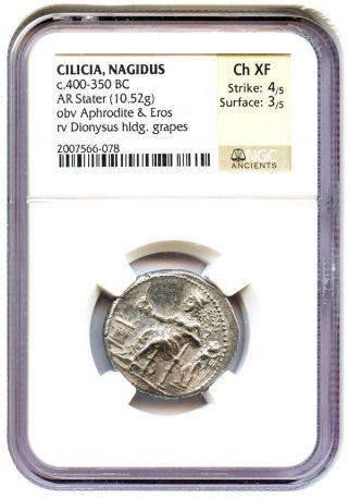 400 - 350 Bc Cilicia Ar Stater Ngc Choice Xf (ancient Greek) photo