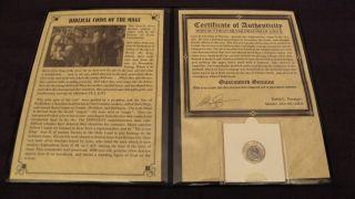 Azes Ii Silver Drachm,  Indo - Scythian,  Bactria,  Herod,  Jesus Time Biblical Coin,  Magi photo