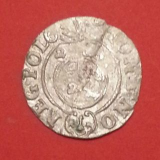 Groshen (1/24 Thaler) 1624 Years Poland Silver (100 - 1 - 1) photo