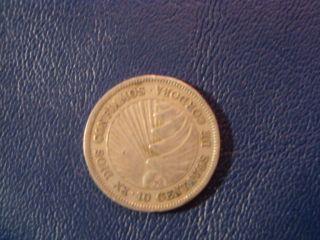 Nicaragua 10 Centavos,  1956 Coin photo