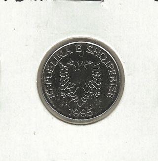 Albania 5 Leke,  1995 photo