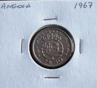 Portugal / Angola - 2,  50 Escudos - 1967 photo