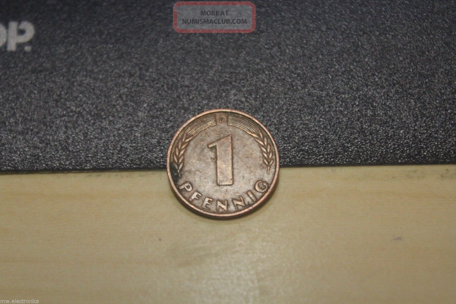 1950 1 pfennig bundesrepublik deutschland coin. Black Bedroom Furniture Sets. Home Design Ideas