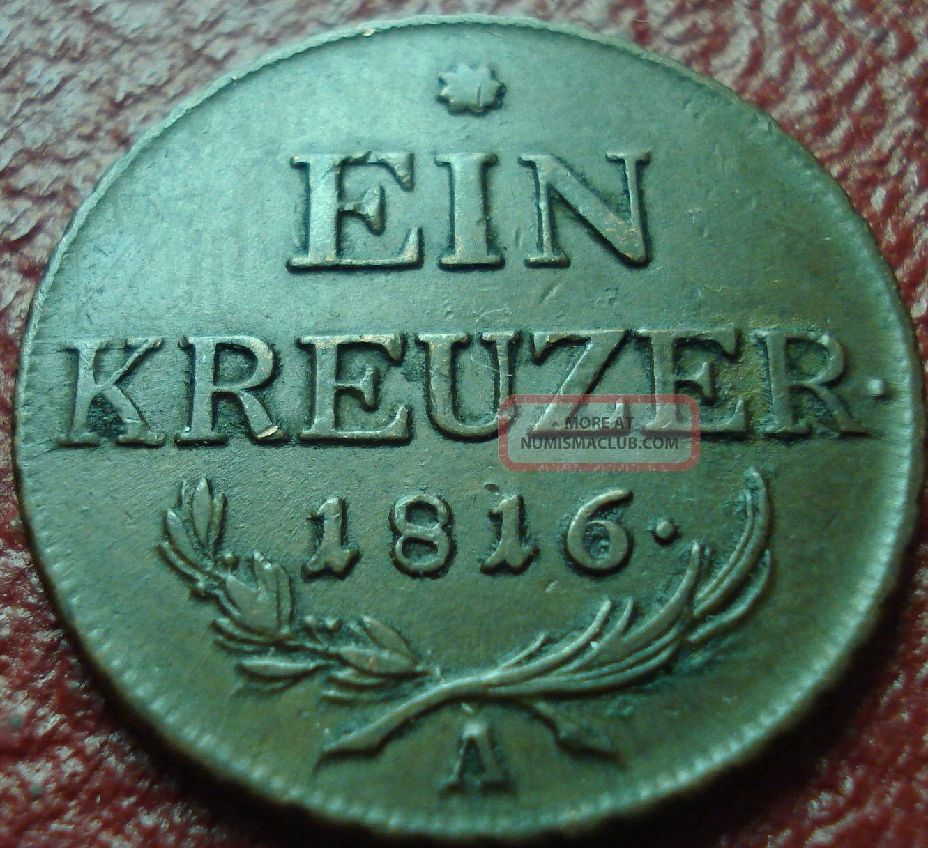 1816 - A Austria 1 Kreuzer In Vf Europe photo
