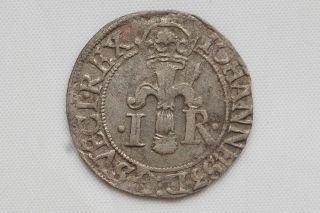 Sweden 1/2 Ore 1583 Johann Iii Silver Vf photo