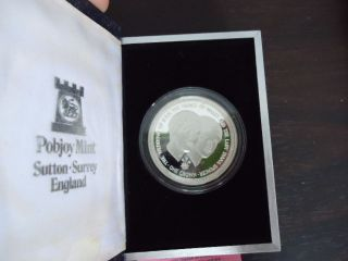 Isle Of Man: 1981 Royal Wedding Of Lady Diana,  Silver Proof Crowns,  Rare photo