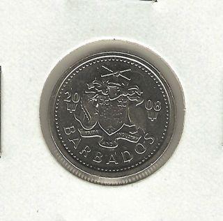 Barbados 10 Cents,  2008 photo