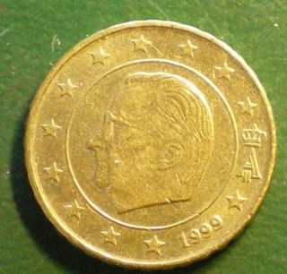 Belgium 1999 € 1 X Euro Coin € 0.  10 €.  See All My Items. .  252 photo