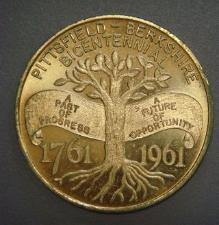 Pittsfield - Berkshire Bicentennial,  1761 - 1961,  50¢ photo