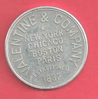 York,  Ny 1882 Ny 350 Valentine & Company - Varnishes Alum.  35mm photo