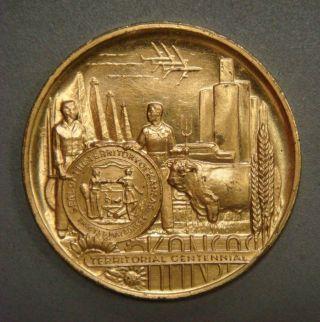 Kansas Territorial Centennial,  1854 - 1954 Official Centennial Coin photo