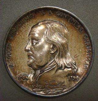 Ben Franklin,  A Good Conscience Is A Continual Christmas,  Pennsylvania photo