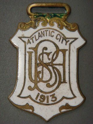 Fob - Atlantic City 1913,  B Usa photo