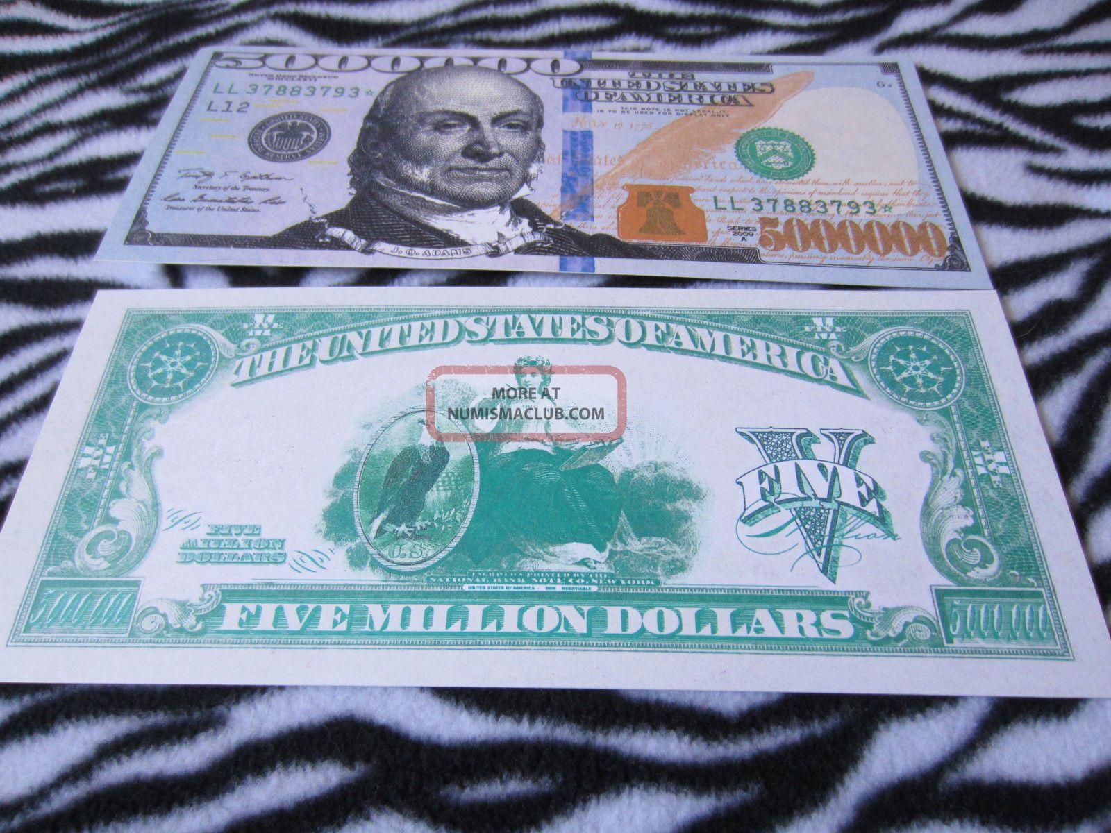 5000000 dollars