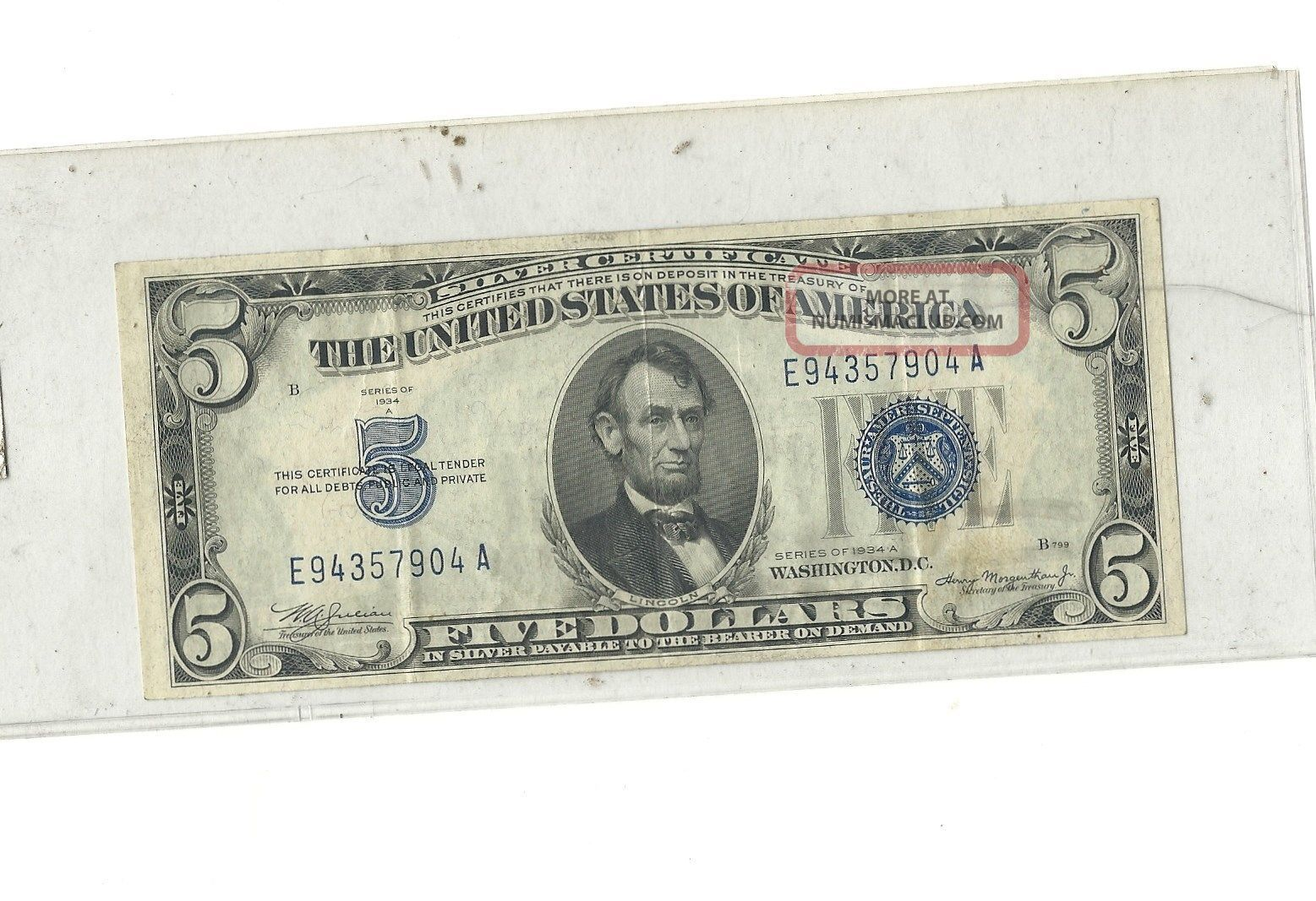 dollar certificate silver 1934 notes uploaded money paper value certificates