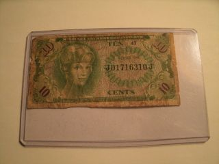 Ten Cents Military Payment Certificate photo