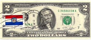 Paper Money Us Small Size Notes Federal Reserve Notes