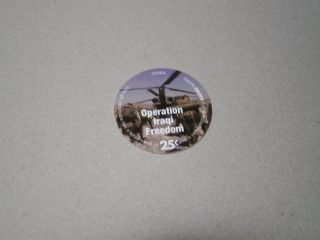 8d25 25 Cents Aafes Pogs About Uncirculated photo