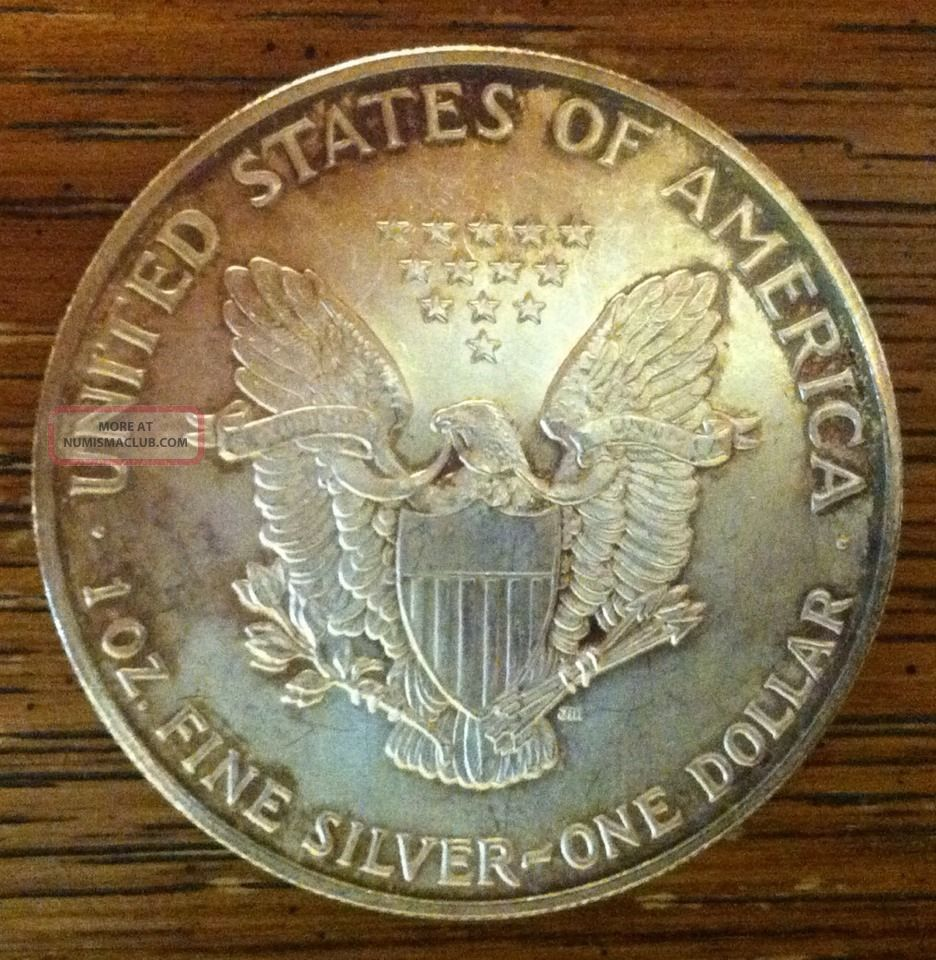 1992 1oz 999 Fine Silver Liberty Walking American Silver