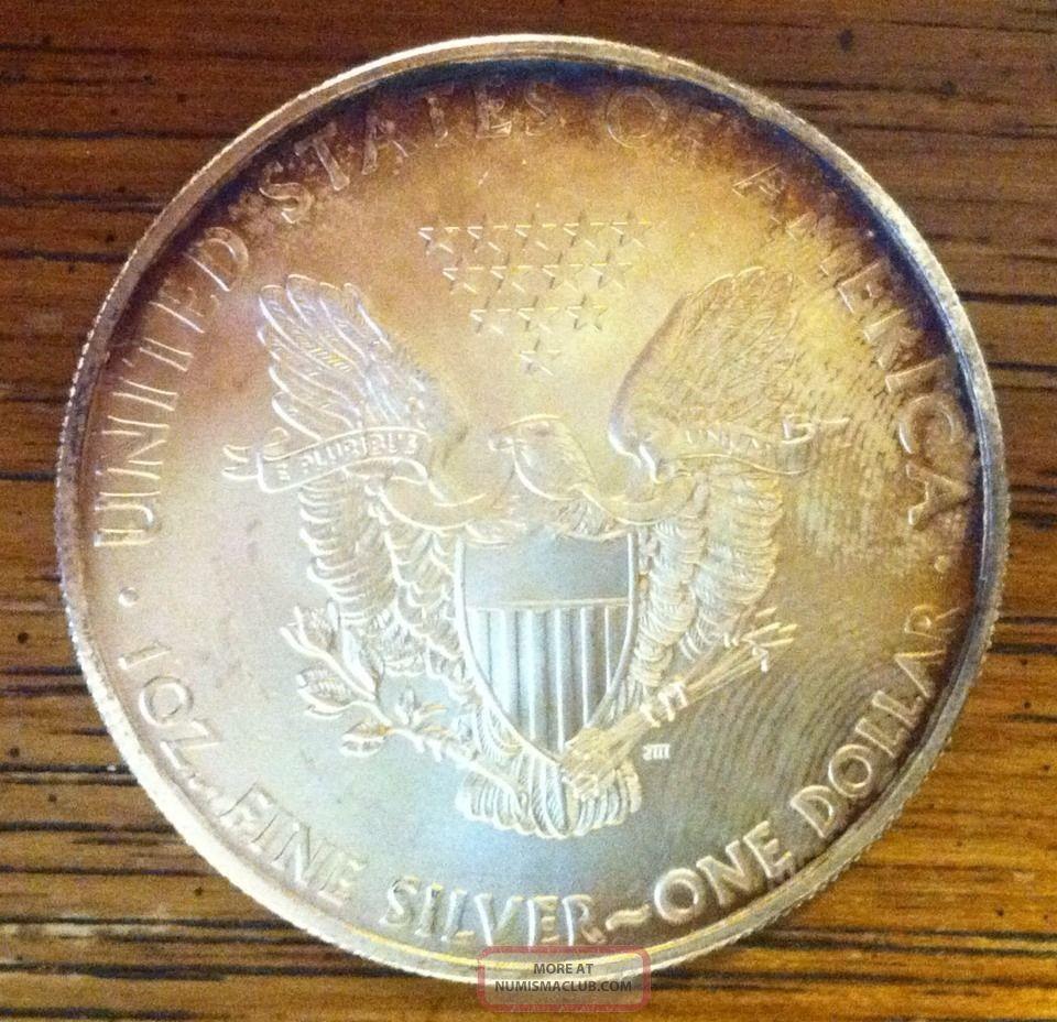 2010 1oz 999 Fine Silver Liberty Walking American Silver