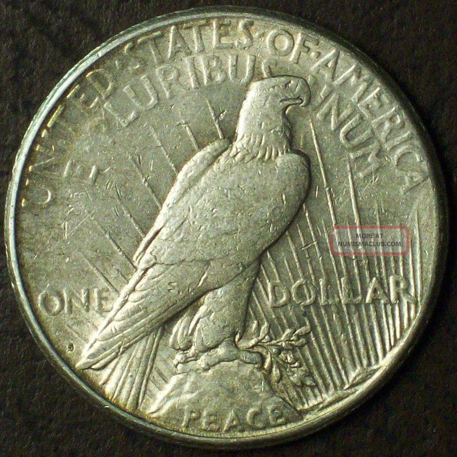 1922 S Peace Dollar 90 Silver