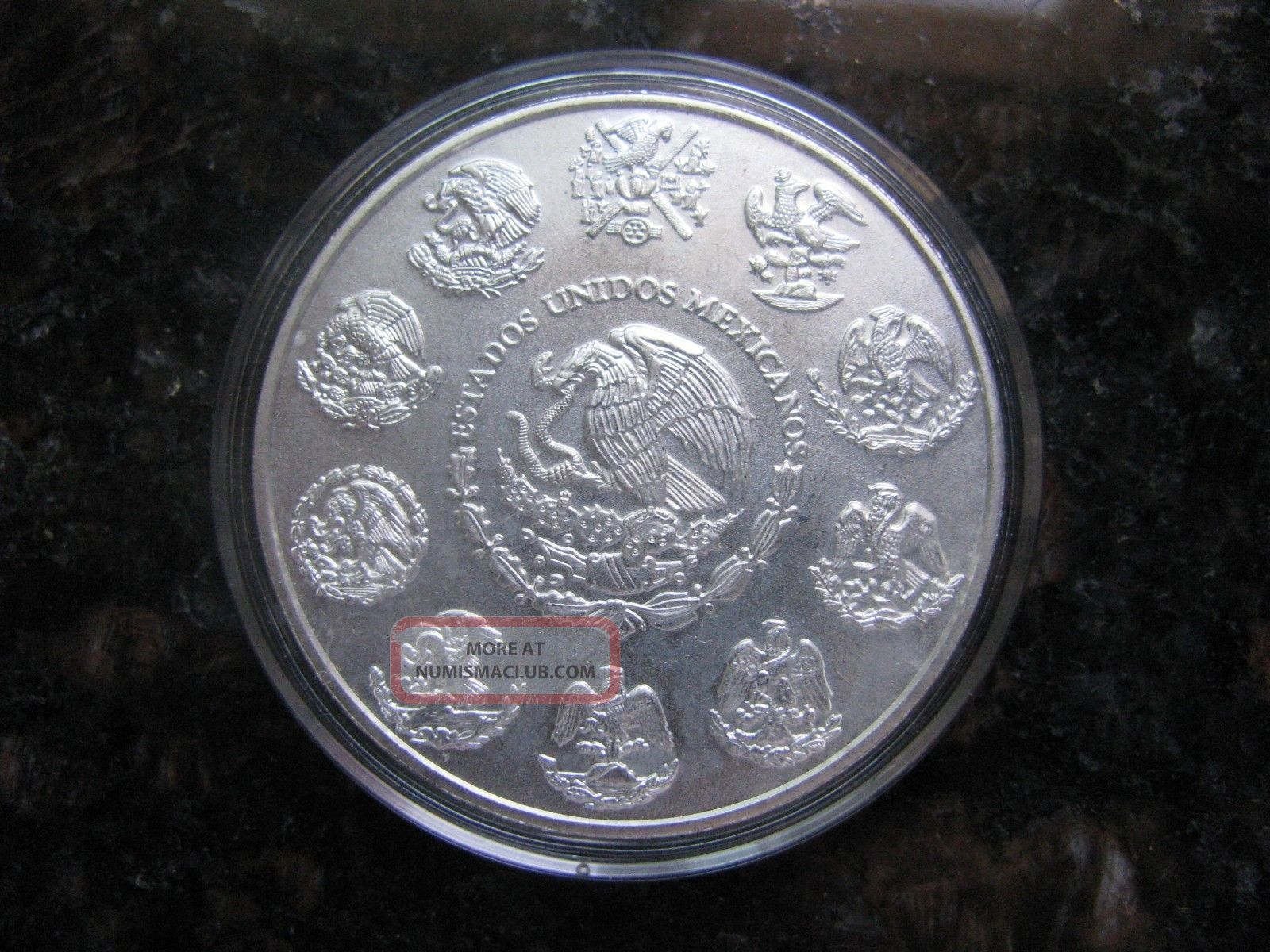 2013 1 Oz Silver Libertad Mexican Coin Liberty Eagle Round