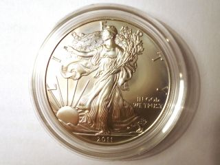 2011 - W American Eagle Silver Collectors Variety Uncirculated Coin U.  S. photo