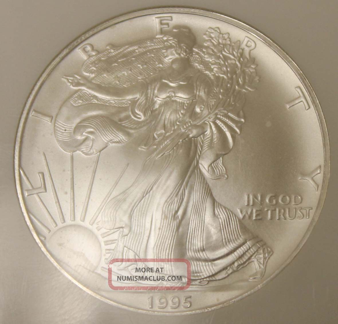 1995 United States Eagle 1 Coin Ngc Grade Ms69