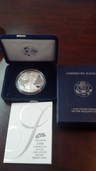 2006 Proof Silver American Eagle West Point photo