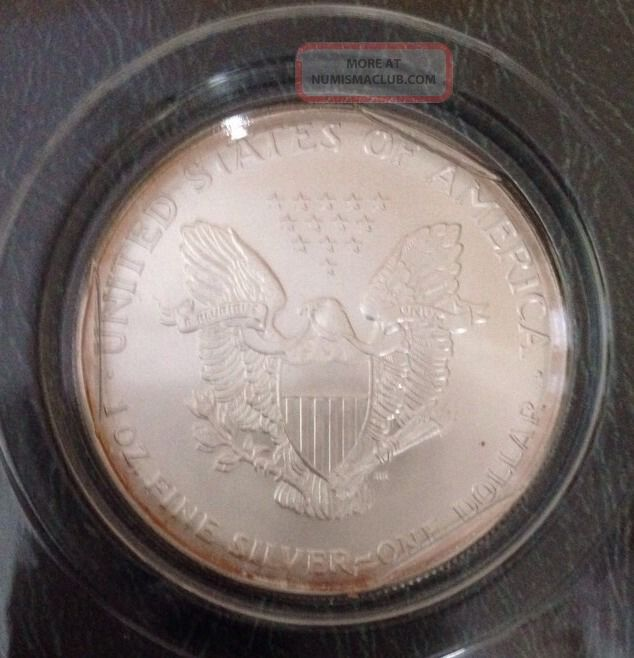 2001 Silver American Eagle Dollar 999 Silver 1 Troy Oz In