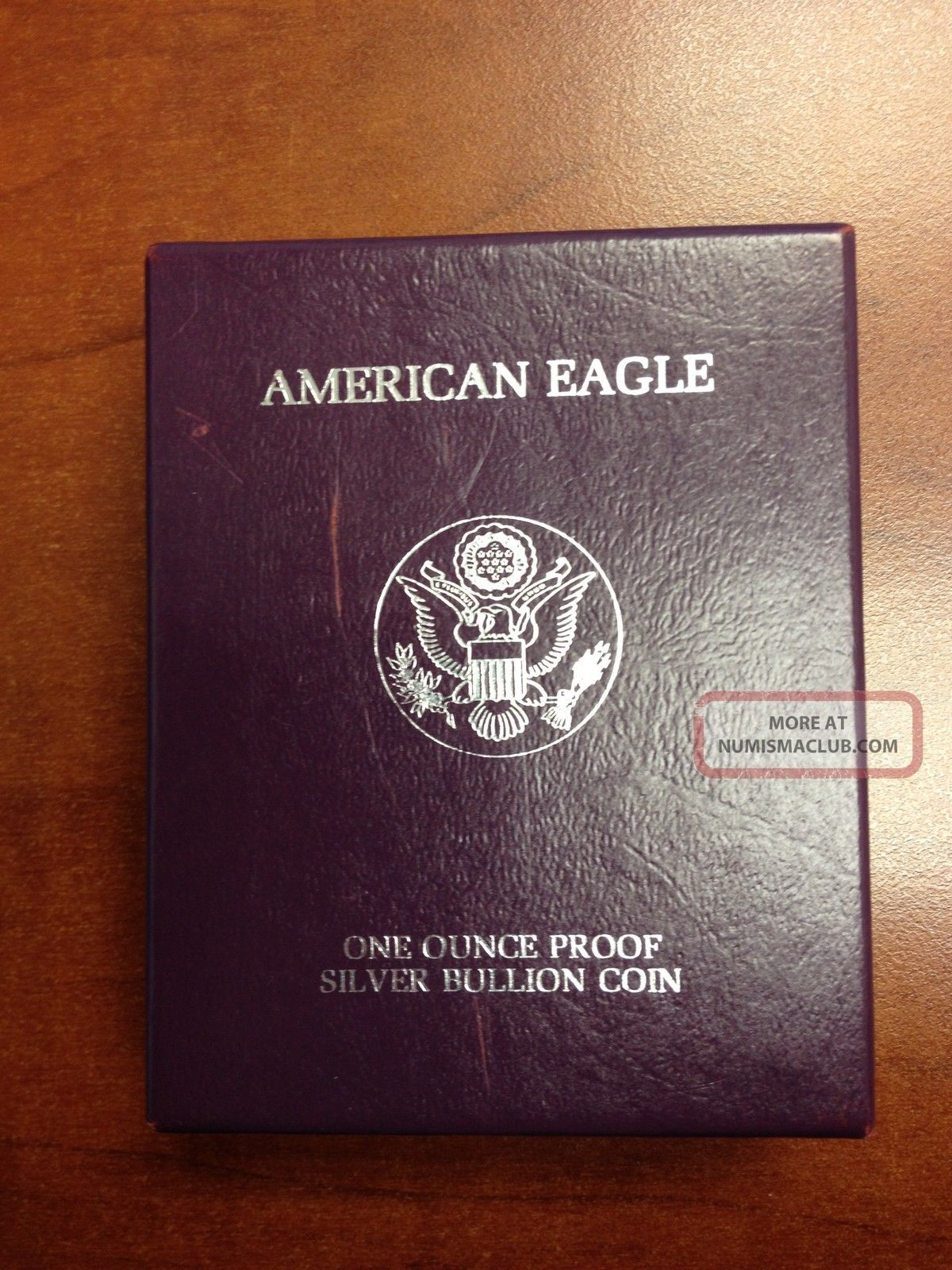 1986 S Silver American Eagle One Dollar Proof Coin 1 Oz