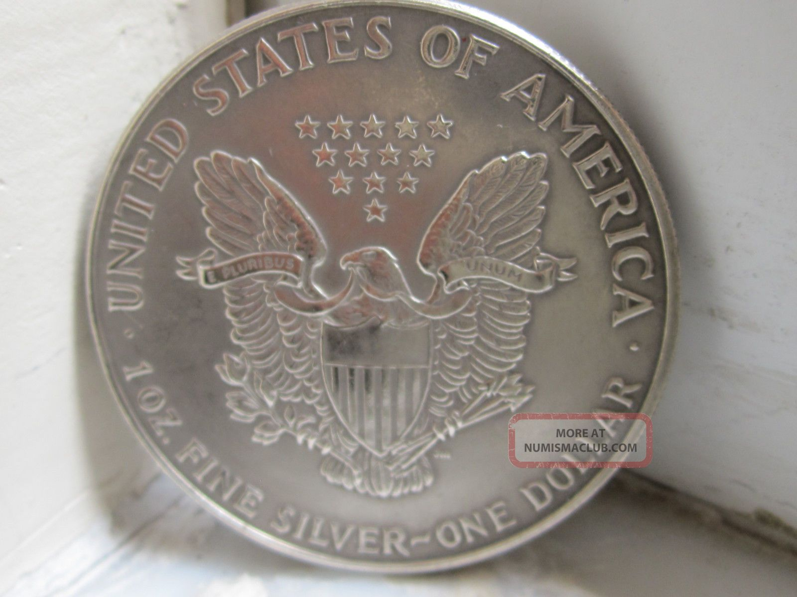 1991 American 1oz Fine Silver Liberty Eagle 1 One Dollar