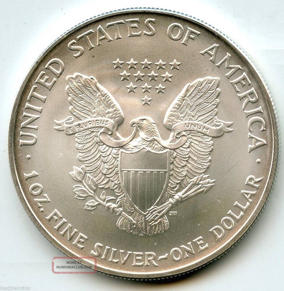 2003 American Eagle Fine Silver Dollar Uncirculated Coin