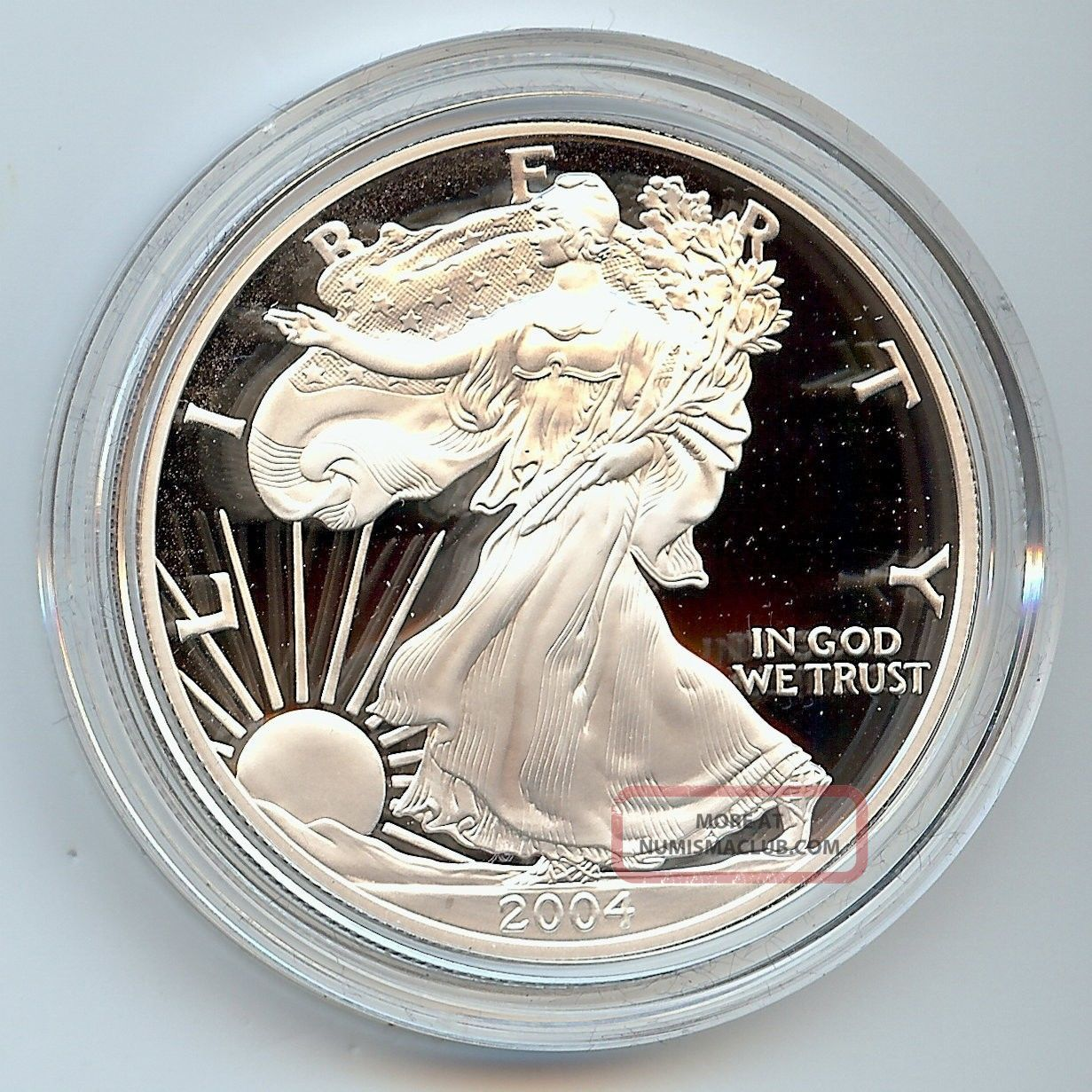2004 W American Eagle Silver Proof Coin