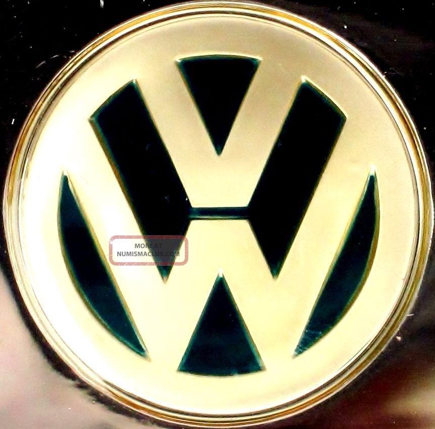 Volkswagen Germany Automobile Emblem 0 76 Oz 925